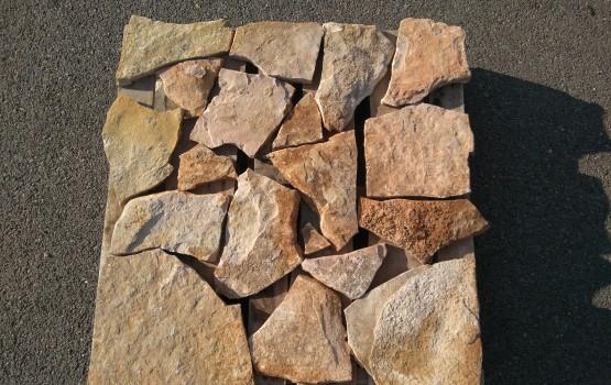 Piedra natural mérida 2/3 blanca rosada